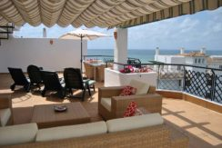 Beachfront holiday penthouses Marbella