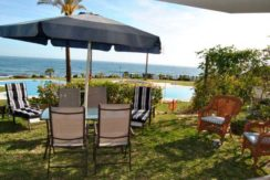 Beachfront sea views holiday rentals Marbella